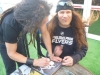 Mark Osegueda of Death Angel and Phil Demmel of Machine Head
