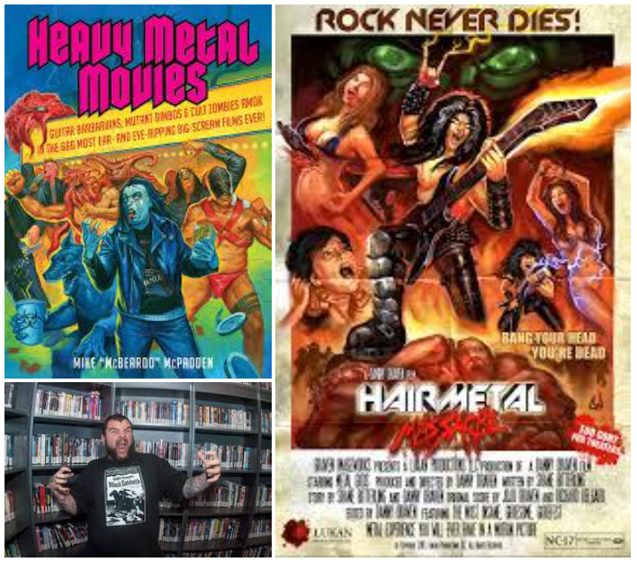"""HEAVY METAL MOVIES: Mike """"McBeardo"""" McPadden Invades the Double-Page Spread Podcast"""