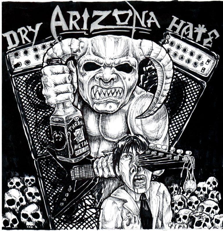 Bloody Roots of Arizona Dry Hate on Sirius XM: AZ Thrash Metal Demos 1985-1992