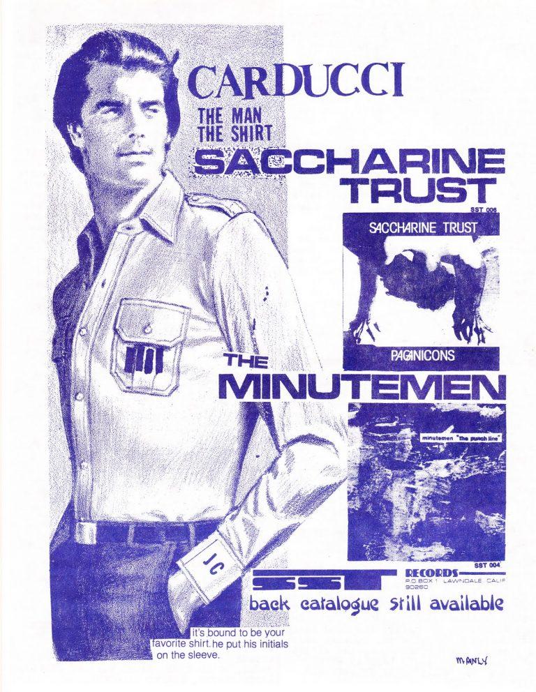 WE GOT POWER!: Joe Carducci's Four-Hour 1980s DIY Immersion on WFMU