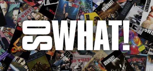 """MURDER IN THE FRONT ROW: Brian Lew on Metallica's """"So What!"""" Podcast"""