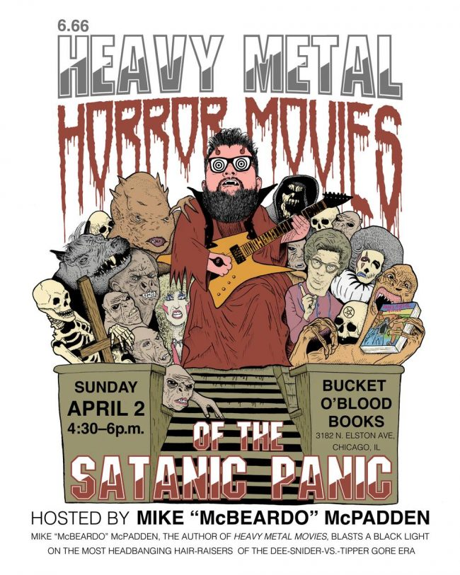 Sun  4/2, Chicago: 6 66 Heavy Metal Horror Films of the